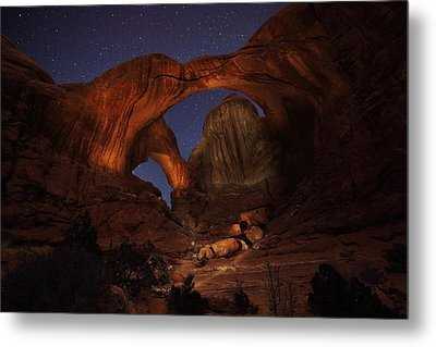 Metal Print featuring the photograph Make It A Double by David Andersen
