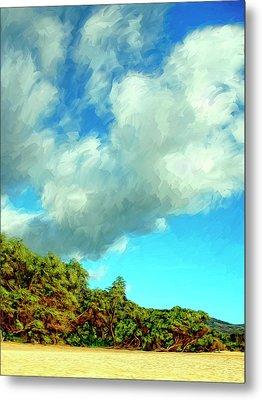 Makena Beach Maui Metal Print by Dominic Piperata