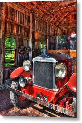 Maker's Mark Firehouse 2 Metal Print by Mel Steinhauer