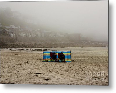Making The Most Of Their Holiday Metal Print by Terri Waters