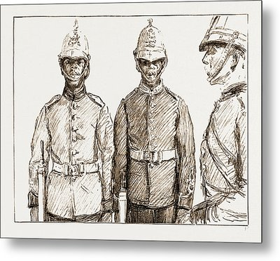 Malay Armed Police Straits Settlements Contingent Metal Print by Litz Collection