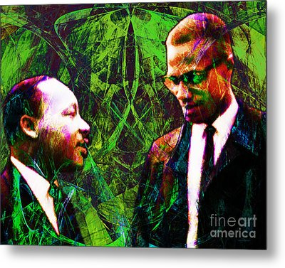 Malcolm And The King 20140205p68 Metal Print by Wingsdomain Art and Photography