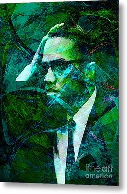 Malcolm X 20140105p138 Metal Print