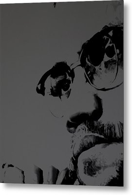 Malcolm X Metal Print by Brian Reaves