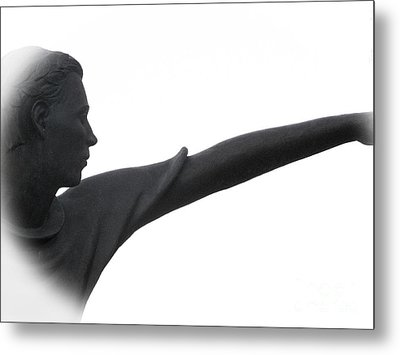 Male Educator Reaching Out Two Metal Print by Tina M Wenger
