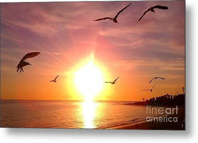 Malibu Paradise Metal Print by Chris Tarpening