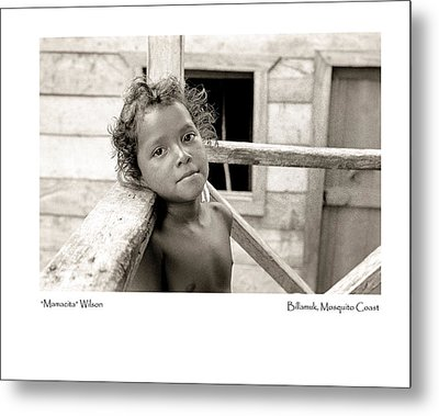 Metal Print featuring the photograph Mamacita Wilson by Tina Manley