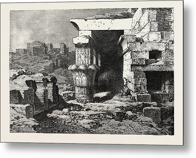 Mamisi, Or Place Of Birth Of Dendera Metal Print by Litz Collection