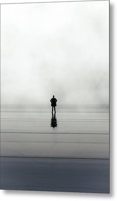 Man Alone Metal Print
