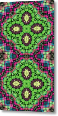 Mandala 112 For Iphone Double Metal Print by Terry Reynoldson