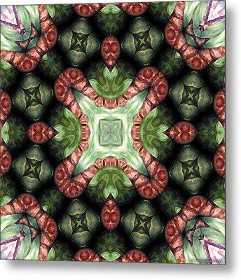 Mandala 113 Metal Print by Terry Reynoldson