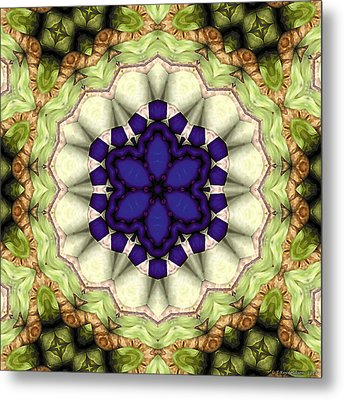 Mandala 114 Metal Print by Terry Reynoldson