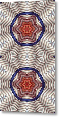 Mandala 12 For Iphone Double Metal Print by Terry Reynoldson