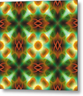 Mandala 134 Metal Print