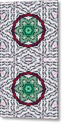 Mandala 7 For Iphone Double Metal Print