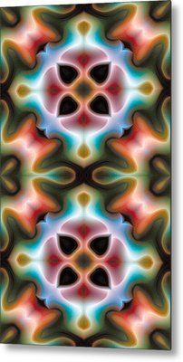 Mandala 82 For Iphone Double Metal Print by Terry Reynoldson