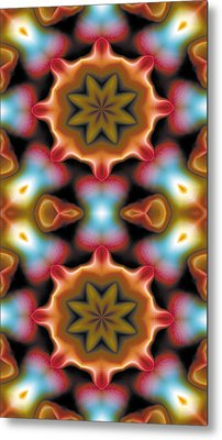Mandala 94 For Iphone Double Metal Print by Terry Reynoldson
