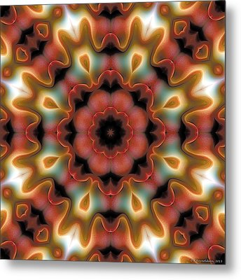 Mandala 96 Metal Print by Terry Reynoldson