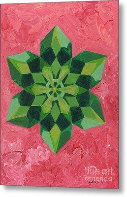 Mandala Of The Heart Metal Print