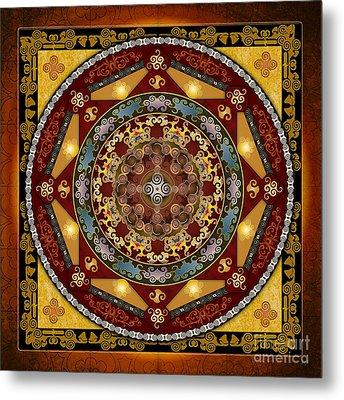 Mandala Oriental Bliss Metal Print