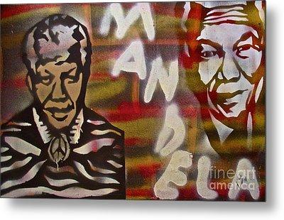 Mandela Metal Print by Tony B Conscious