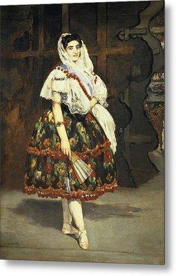 Manet, �douard 1832-1883. Lola De Metal Print by Everett