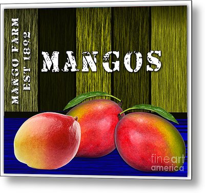 Mango Farm Metal Print by Marvin Blaine