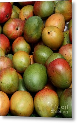 Mangoes Metal Print by Carol Groenen