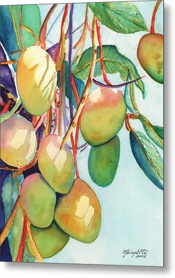 Mangoes Metal Print