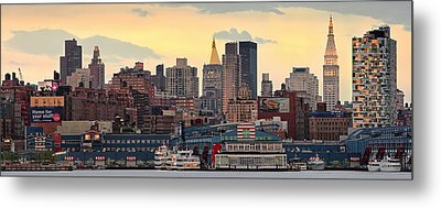Manhatan Ny  Metal Print