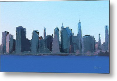Manhattan 2014 Metal Print
