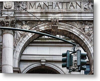 Manhattan Metal Print by Joanna Madloch