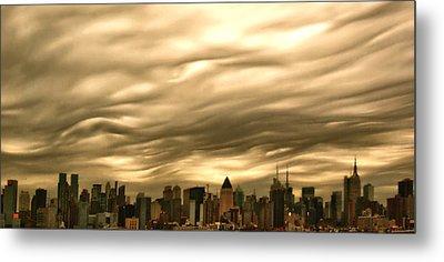 Manhattan Sky Metal Print