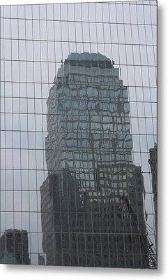 Manhattan Tower Metal Print