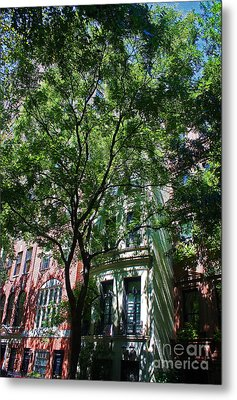 Metal Print featuring the photograph Manhattan Upper East Side Late Summer by Andy Prendy