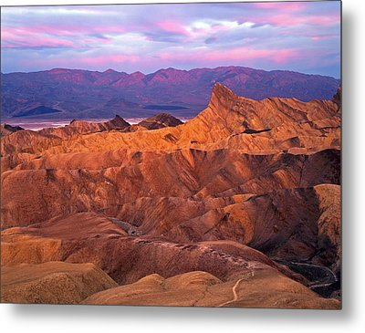 Manley Beacon From Zabriskie Point Metal Print by Mike Norton