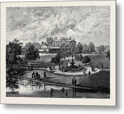 Manley Hall The New Public Park For Manchester 1880 Metal Print