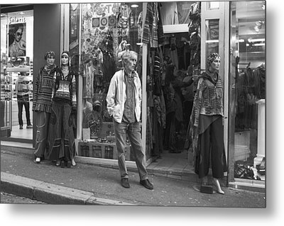 Mannequin Metal Print by Hugh Smith