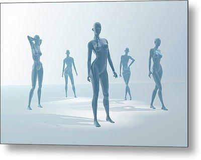 Mannequins Metal Print by Carol & Mike Werner
