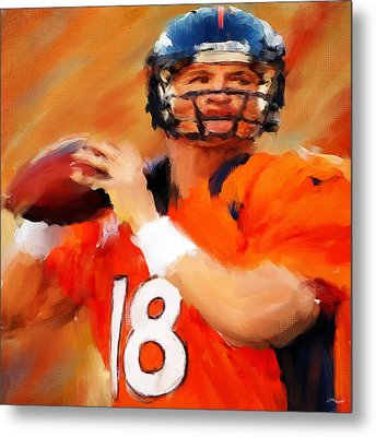 Manning Metal Print by Lourry Legarde