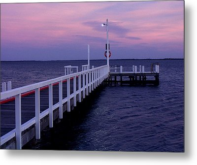Manns Beach Jetty Metal Print