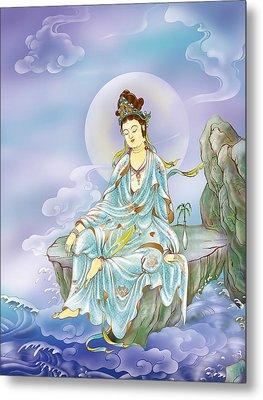 Many Treasures Avalokitesvara  Metal Print by Lanjee Chee