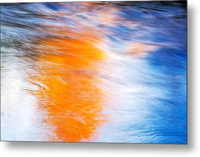 Maple Reflection Metal Print by Michael Hubley