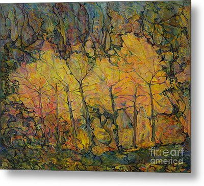 Maples Metal Print