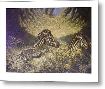 Mara Crosasing Metal Print by Steven Wood