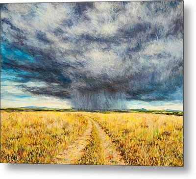 Mara Storm Metal Print by Tilly Willis