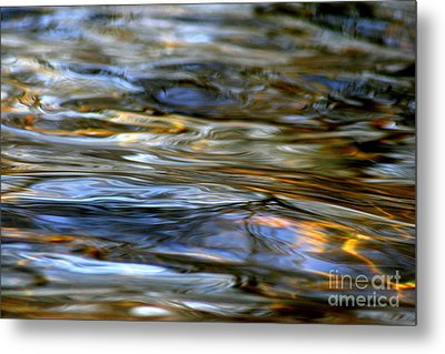 Marbeled Movement Metal Print by Neal Eslinger