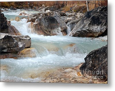 Metal Print featuring the photograph Marble Canyon by Bob and Nancy Kendrick