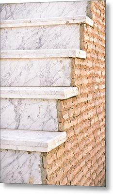 Marble Steps Metal Print by Tom Gowanlock