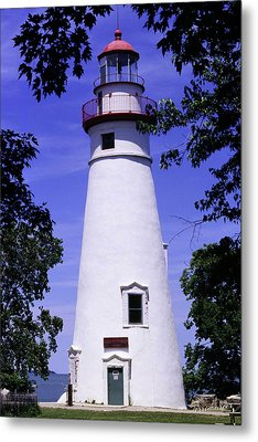 Metal Print featuring the photograph Marblehead Light by Terri Harper